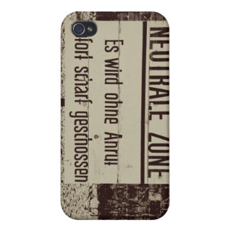 Neutral Zone iPhone 4/4S Covers