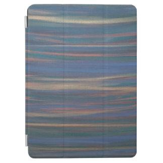 Neutrales azulverdes de la tierra resuelta del cubierta de iPad air
