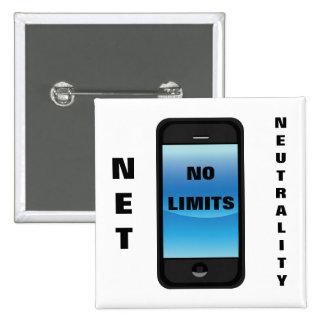 Neutralidad neta ningún teléfono de los límites - pin