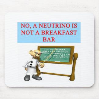 NEUTRINO quantum mechanics physics joke Mouse Pad
