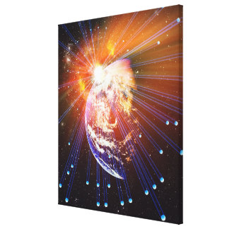 Neutrinos 2 canvas print