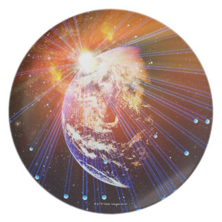 Neutrinos 2 dinner plate