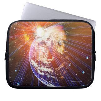 Neutrinos 2 laptop sleeves