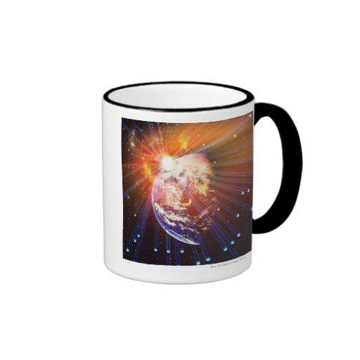 Neutrinos 2 ringer coffee mug