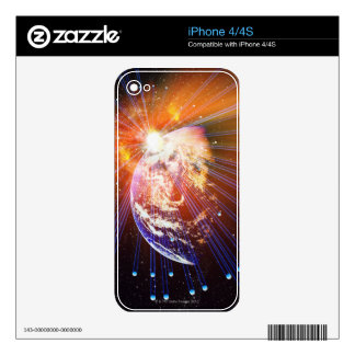 Neutrinos 2 skin for the iPhone 4