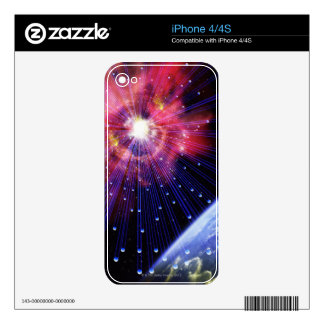Neutrinos 3 decals for the iPhone 4