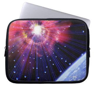 Neutrinos 3 laptop computer sleeve