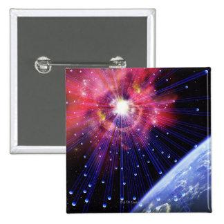 Neutrinos 3 pinback button