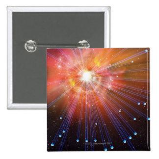 Neutrinos 2 Inch Square Button
