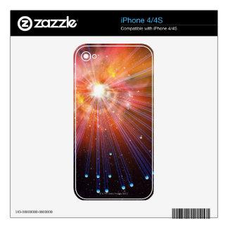Neutrinos Skin For iPhone 4