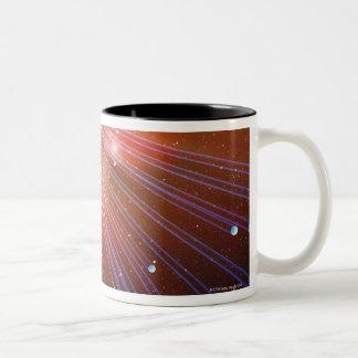 Neutrinos Two-Tone Coffee Mug