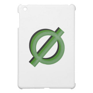 Neutrois 3d Green iPad Mini Cases