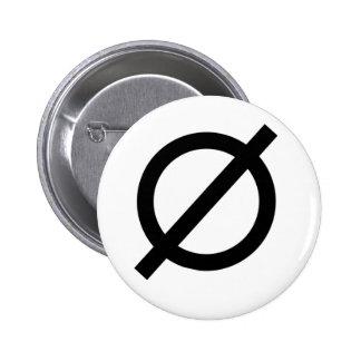 Neutrois Pinback Button