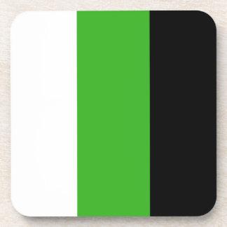 Neutrois flag coaster