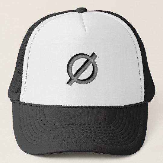 Neutrois in 3d trucker hat