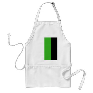 Neutrois pride flag adult apron