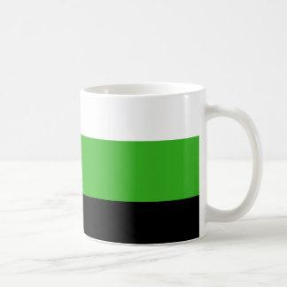 Neutrois pride flag classic white coffee mug