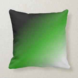 Neutrois pride gradient throw pillow