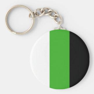 Neutrois pride keychain