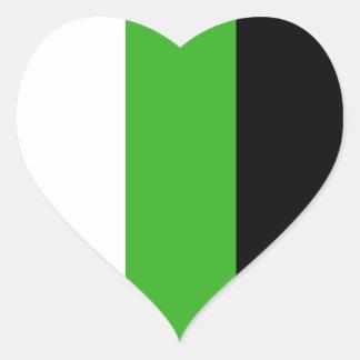 Neutrois stickers - hearts