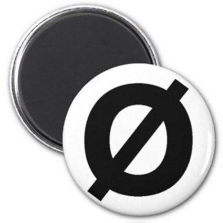 Neutrois symbol magnet