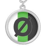 Neutrois symbol necklace