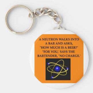 neutron joke keychain