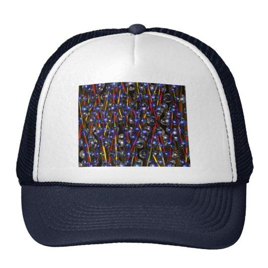 Neutron Rods Abstract art by Valxart.com Trucker Hat