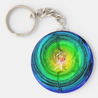 Neutron Star Basic Round Button Keychain