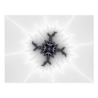 Neutron Star - Fractal Art Postcard