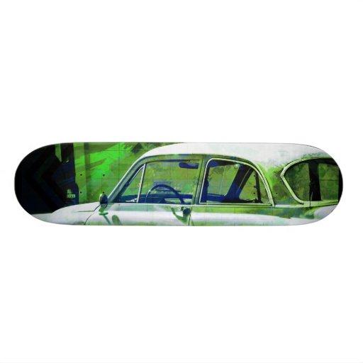 Neutron Wheels green Skate Boards