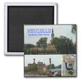 Neuzelle, Neuzelle, Landkreis Oder-Spree 2 Inch Square Magnet