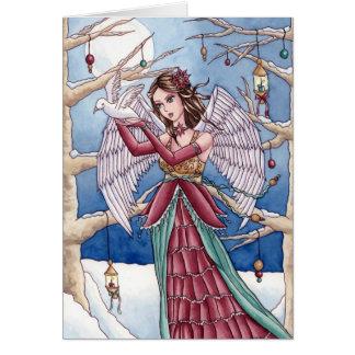 Neva - Christmas Angel Card