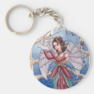 Neva - Christmas Angel Keychain