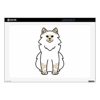 "Neva Masquerade Cat Cartoon Decal For 17"" Laptop"