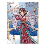 Neva - postal del ángel del navidad