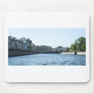 Neva River Cruise Mouse Pad