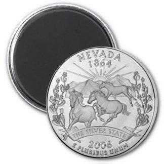 Nevada 2006_NV_Unc 2 Inch Round Magnet