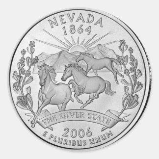 Nevada 2006_NV_Unc Classic Round Sticker