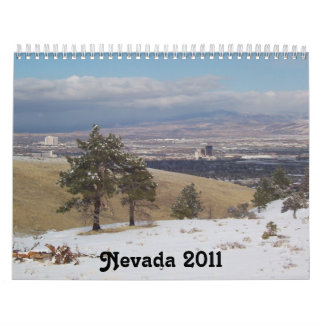 Nevada 2011 calendar