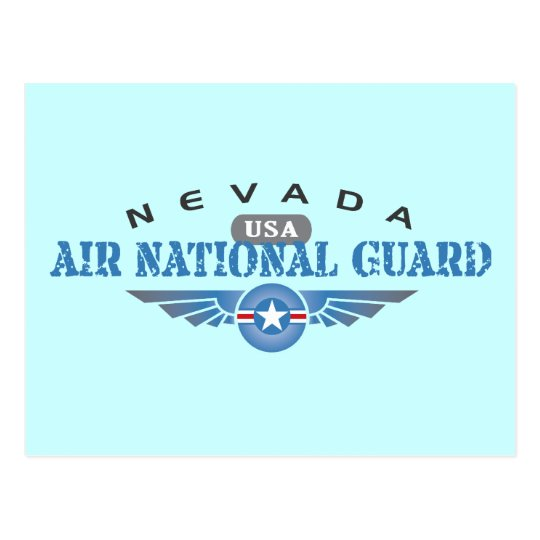 Nevada Air National Guard Postcard