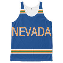 Nevada All-Over Printed Unisex Tank