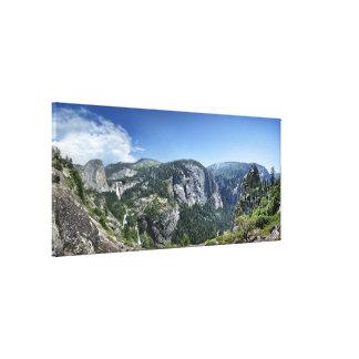Nevada and Vernal Falls - Yosemite Canvas Print