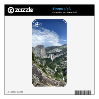 Nevada and Vernal Falls - Yosemite Decal For The iPhone 4S