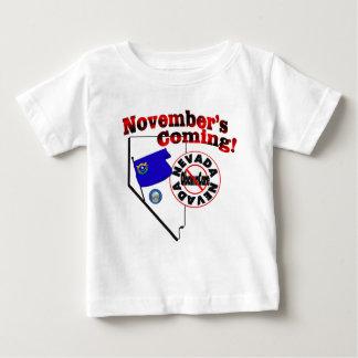 Nevada Anti ObamaCare – November's Coming! Baby T-Shirt