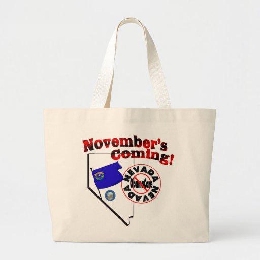 Nevada Anti ObamaCare – November's Coming! Bags