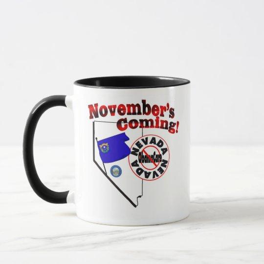 Nevada Anti ObamaCare – November's Coming! Mug