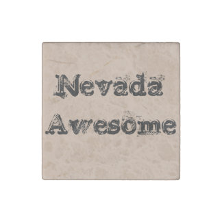 Nevada Awesome Marble Stone Magnet