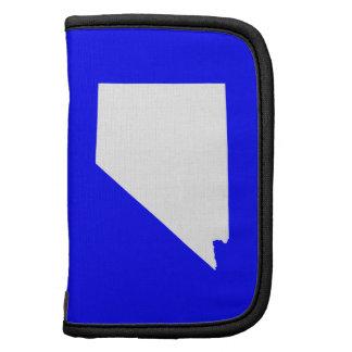 Nevada azul y blanco planificadores