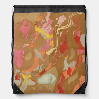 Nevada Basin Geological Drawstring Bag